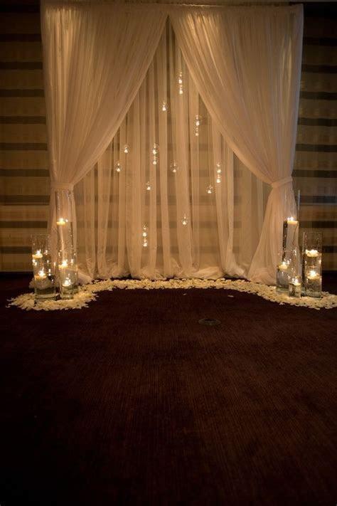 35 Dreamy Indoor Wedding Ceremony Backdrops   elegantly
