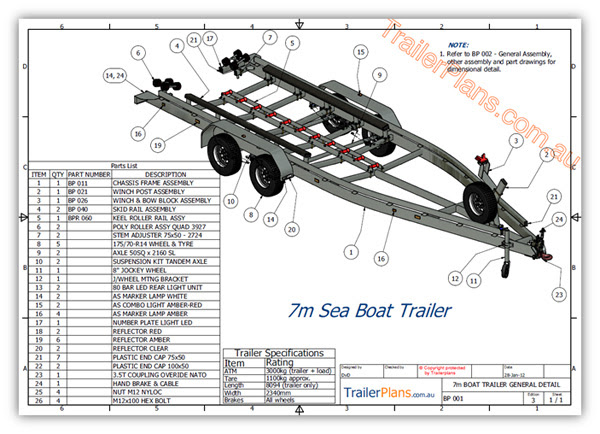 Boat trailer plans free ~ Favorite Plans