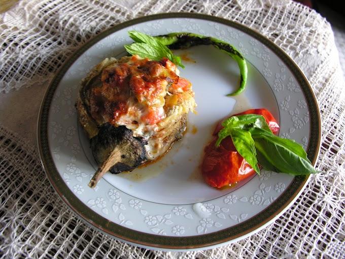 Tavuklu Patlıcan Kebap