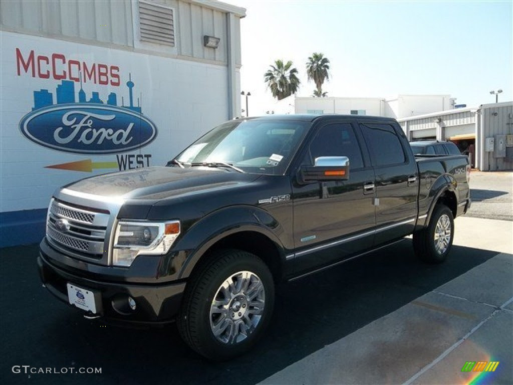 2013 Tuxedo Black Metallic Ford F150 Platinum Supercrew 4x4