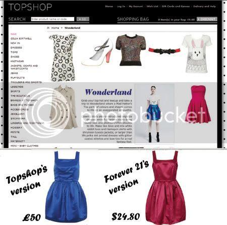 Alice in Wonderland fashion trend