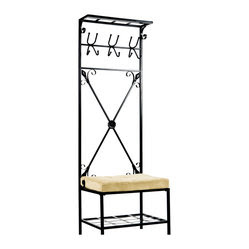 Entryway Bench Coat Hook Products on Houzz