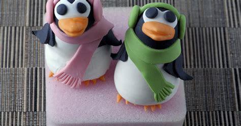 Night Baking: penguin anniversary cake