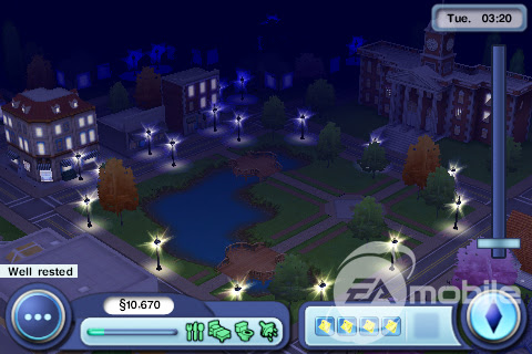 The Sims 3 Iphone Screens