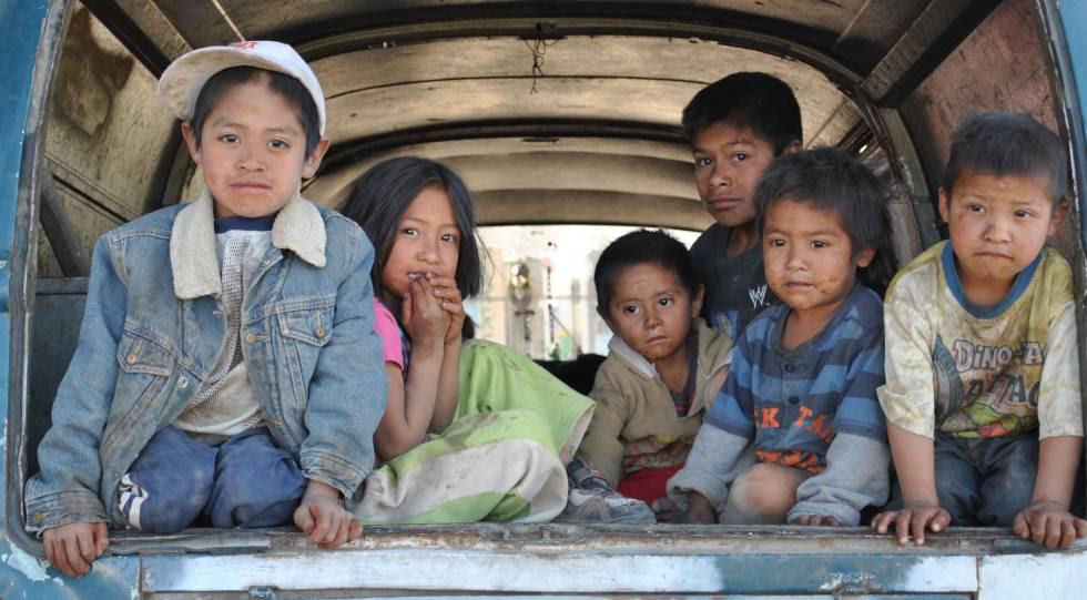 Ajusco es un poblado de familias que migran del campo a la ciudad.