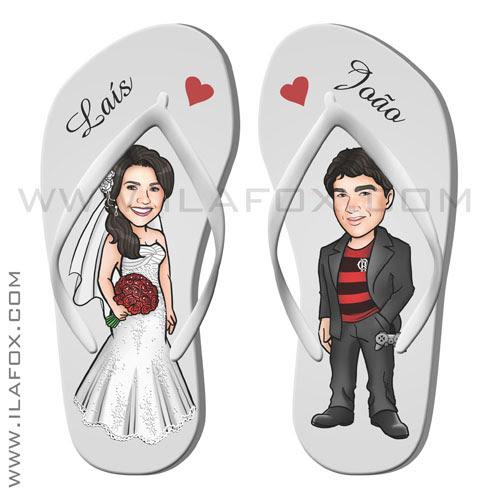 caricatura casal, caricatura noivos, caricaturas bonitas, para casamento, noivo flamenguista, caricatura chinelo, by ila fox