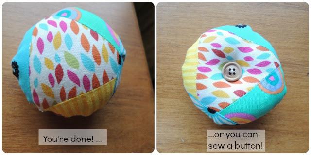 sew a button