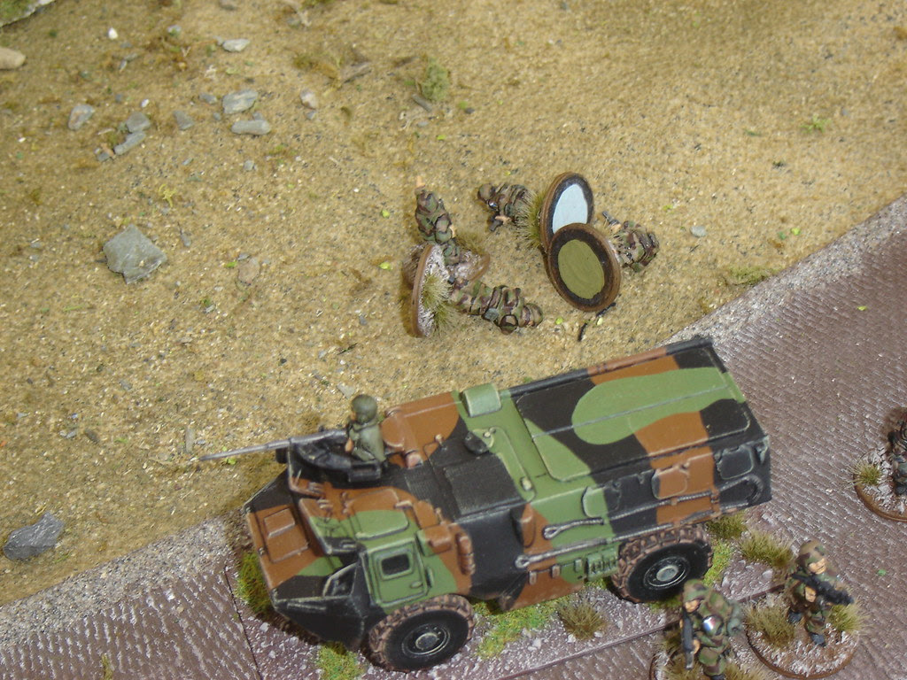 2nd Squad takes casualties as it moves out