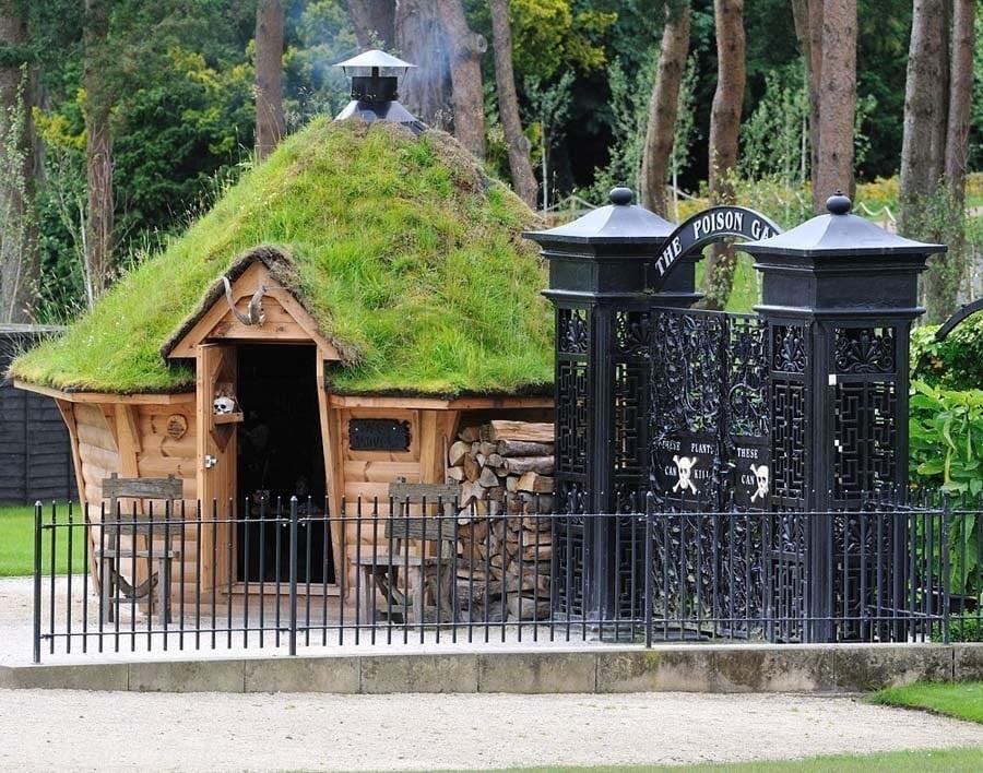 Poison Garden Entry Hut