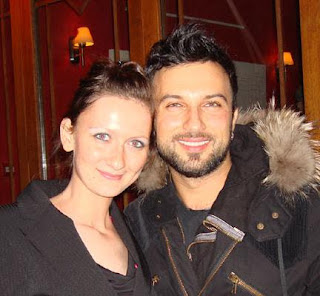 Tarkan at London's Ishtar restaurant