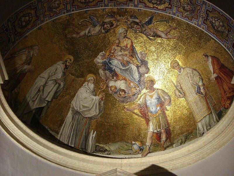 File:Apse mosaic (Santa Maria Scala Coeli).jpg