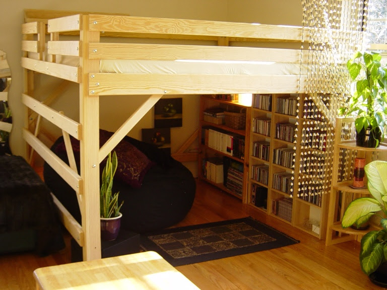 King Size Loft Bed Plans
