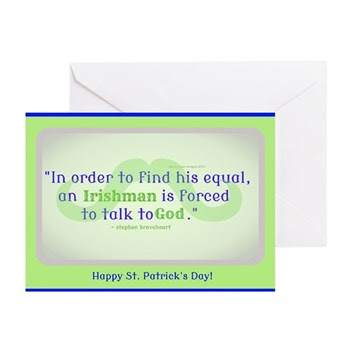 God's Irishman Greeting Cards (pk Of 10)