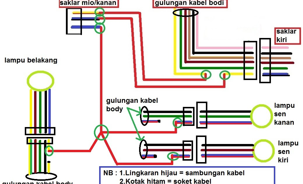Wiring Diagram Of Mio Sporty : Yamaha mio sporty electrical wiring diagram