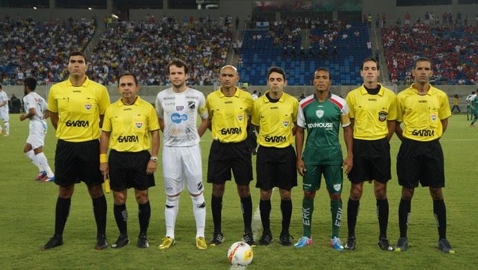 ABC e Alecrim fizeram o segundo jogo da rodada de abertura da Arena das Dunas (Foto: Augusto Gomes)