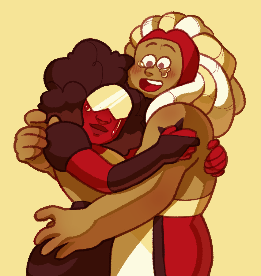i love them! one of my steven universe otps