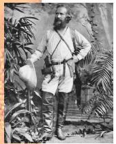 "Ernst Haeckel, ahli biologi Jerman yang menciptakan istilah ""ekologi."""