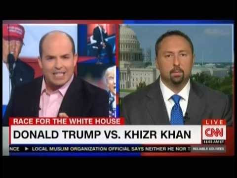 Popular Right Now l CNN's Brian Stelter Stops Trump Campaign's Attempt To Spin Attacks On Khizr Khan Popular on YouTube - CNN's Brian Stelter Stops Trump Campaign's Attempt To Spin Attacks On Khizr Khan via Popular Right Now By MMFA Alt. Channel July 31, 2016 at 11:34PM