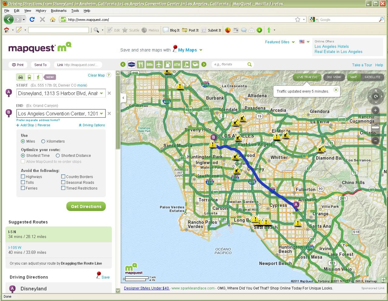 How To Use Mapquest To Create Printed Driving Directions
