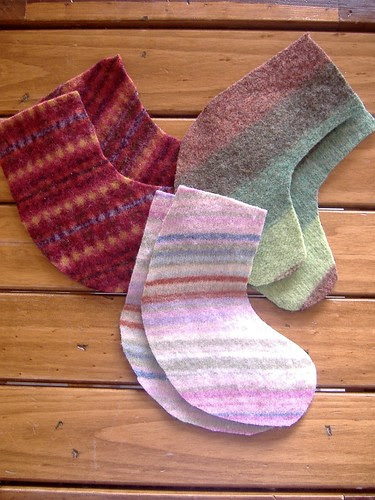 kids felt stockings