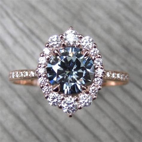 moissanite rings kristin coffin jewelry