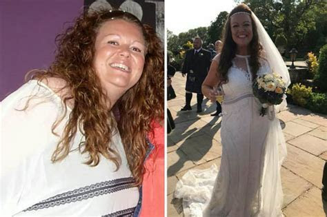 How to lose weight: Bride sheds 7st to fit into wedding