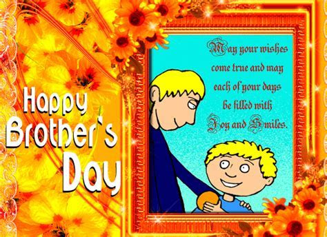 An Inspiring Brother?s Day Card. Free Brother's Day eCards
