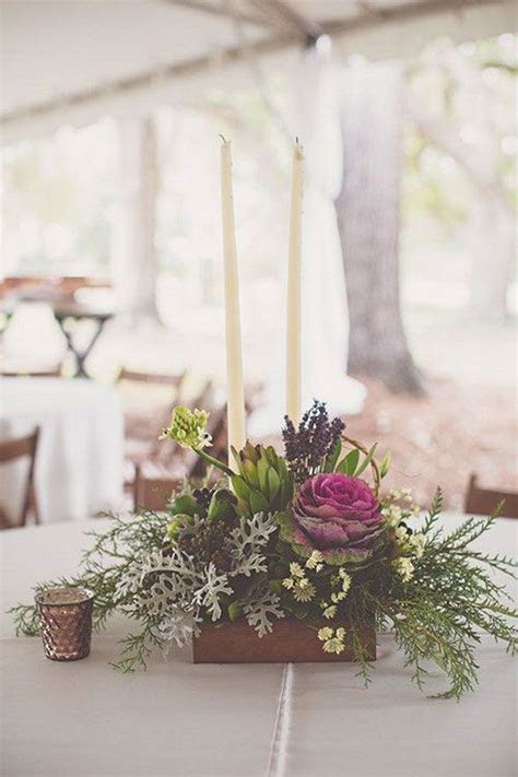 100 Wooden Box Wedding Décor Centerpieces   Cabbages