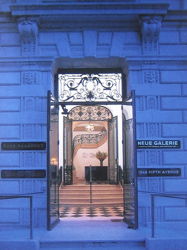 Entrance to Neue Galerie New York