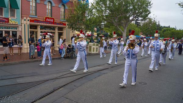 Disneyland Resort, Disneyland60, Disneyland, Band, Sleeping, Beauty, Castle, Main Street U.S.A.