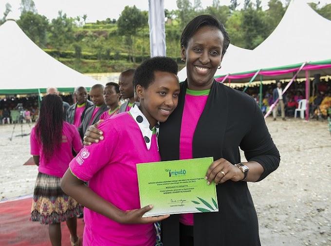 Imbuto Foundation yizihije imyaka 15 y'Inkubito z'Icyeza #Rwanda #RwOT via @kigalitoday #rwanda #RwOT