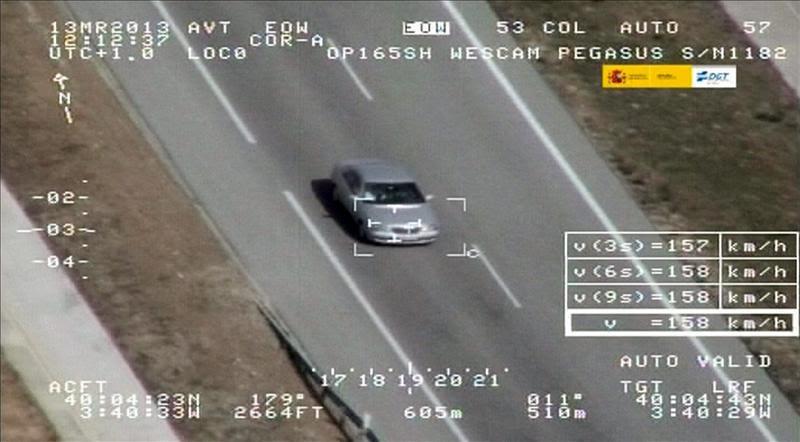 La AP-9, por primera vez, entre los tramos donde se incrementará la vigilancia con radar