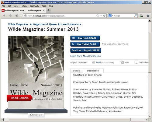 Wilde Magazine - Summer 2013