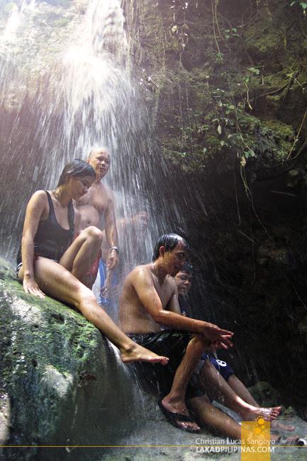 Waterfalling Adventure Tour Peeps at Kalubihon Falls in Iligan City