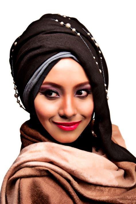 tutorial hijab modern turban terbaru  praktis