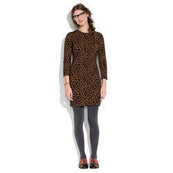 Safari-Print Nightbell Dress
