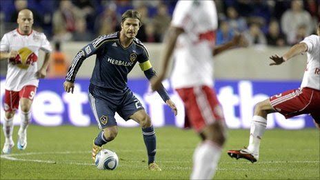 LA Galaxy's David Beckham