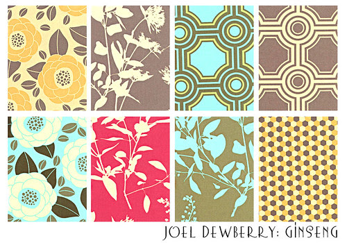 joel dewberry's new line: Ginseng