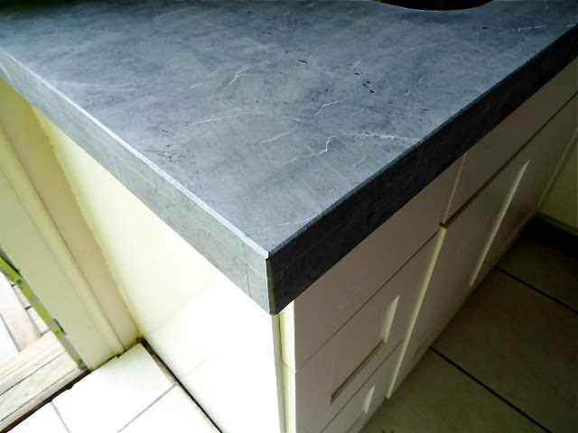 Concrete That Looks Like Soapstone Countertops : The granite gurus upside down marble countertops i saw