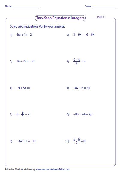 solve verify integers large