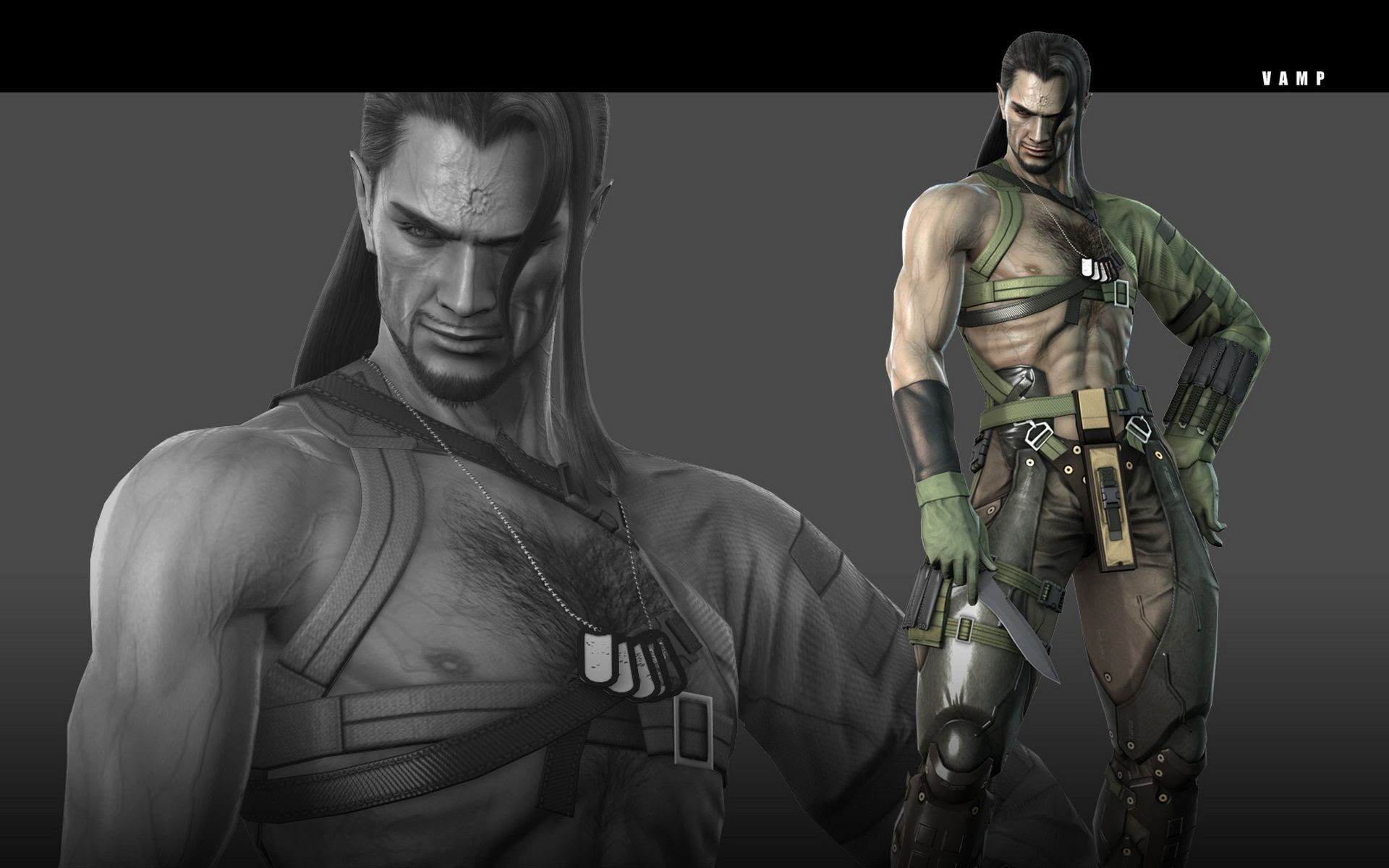Metal Gear Solid 4 Vamp Wallpapers 1920x1200 178414