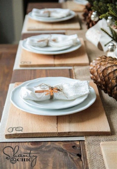 Get 20  Rustic placemats ideas on Pinterest without