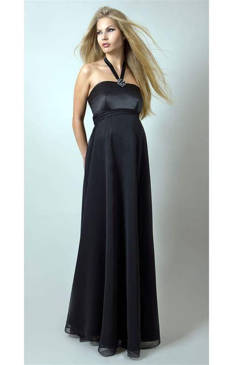 Black Tie Maternity Gown   Maternity Wedding Dresses