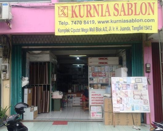 Toko Kurnia Sablon Tangerang Selatan