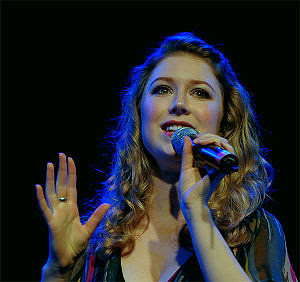 English: Hayley Westenra during her concert at...
