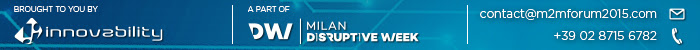 BROUGHT TO YOU BY INNOVABILITY - A PART OF DISRUPTIVE WEEK - CONTACT US