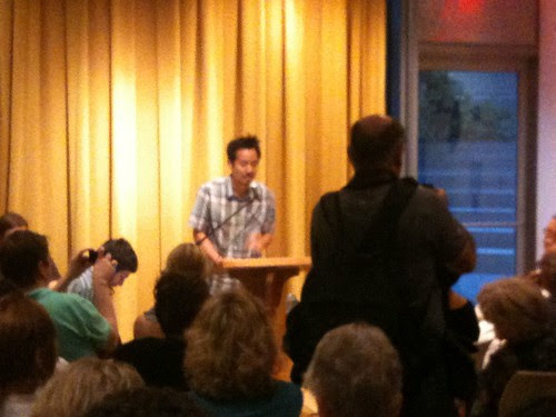 New Directions editor Jeffrey Yang, closing the event