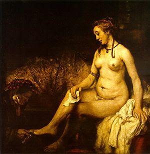Hendrickje was probably a model for Bathsheba ...