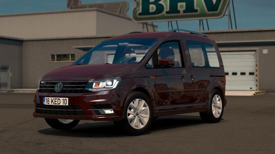 Volkswagen Caddy 1 28 Car Mod Euro Truck Simulator 2 Mods