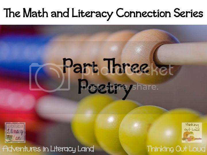 Using poetry in math can develop an understanding of mathematical concepts and relationships. Visit this post on Adventures in Literacy Land to learn more.